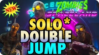 Zombies In Spaceland Glitches: New! Solo Double Jump Method + Out The Map Glitch - Infinite Warfare