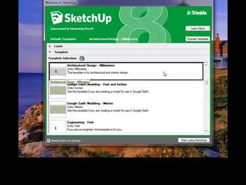 tutorial desain rumah 3d sketchup 1 sd 4 - youtube