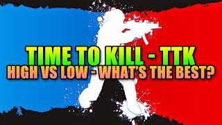 Time To Kill In Shooters - High Vs Low, What
