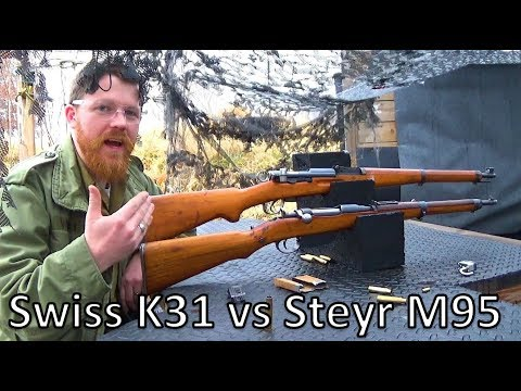Straight Pull Showdown: Mannlicher (M95) vs Schmidt (K31)
