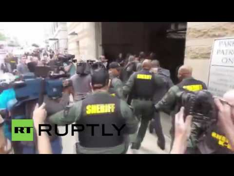 Freddie Gray trial: Fury outside Baltimore court as officer Nero found not guiltyie Gray trial