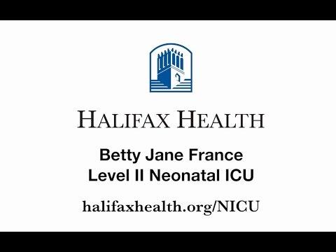 Betty Jane France Level II Neonatal ICU at Halifax Health