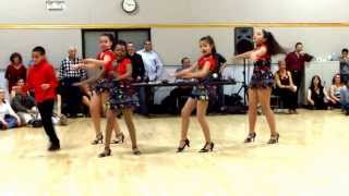 Central Jersey Dance Society Salsa Sensation Dance Estilo Kids Salsa Performance on 2 1 14