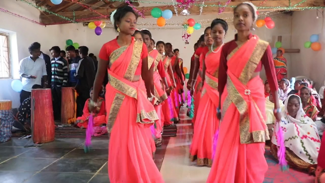 Download Ningan bedage Yeshu   निंगन बेद्दागे येसु   Kurukh Jesus Song   Entrance Dance   Lakra Creations   