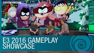 South Park: The Fractured But Whole Gameplay Showcase with Trey and Matt – E3 2016 [US]