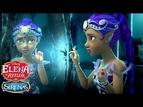 The Secret Life of Sirenas: Marisa and the Mirror | Elena of Avalor | Disney Junior