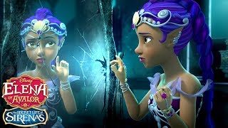 The Secret Life of Sirenas: Marisa and the Mirror | Elena of Avalor | Disney Junior