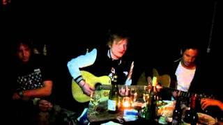 Ed sheeran playing at Jake& 39 s birthday dinner