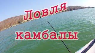 Ловля камбалы в районе Суходола Уссурийский залив Приморский край 2020