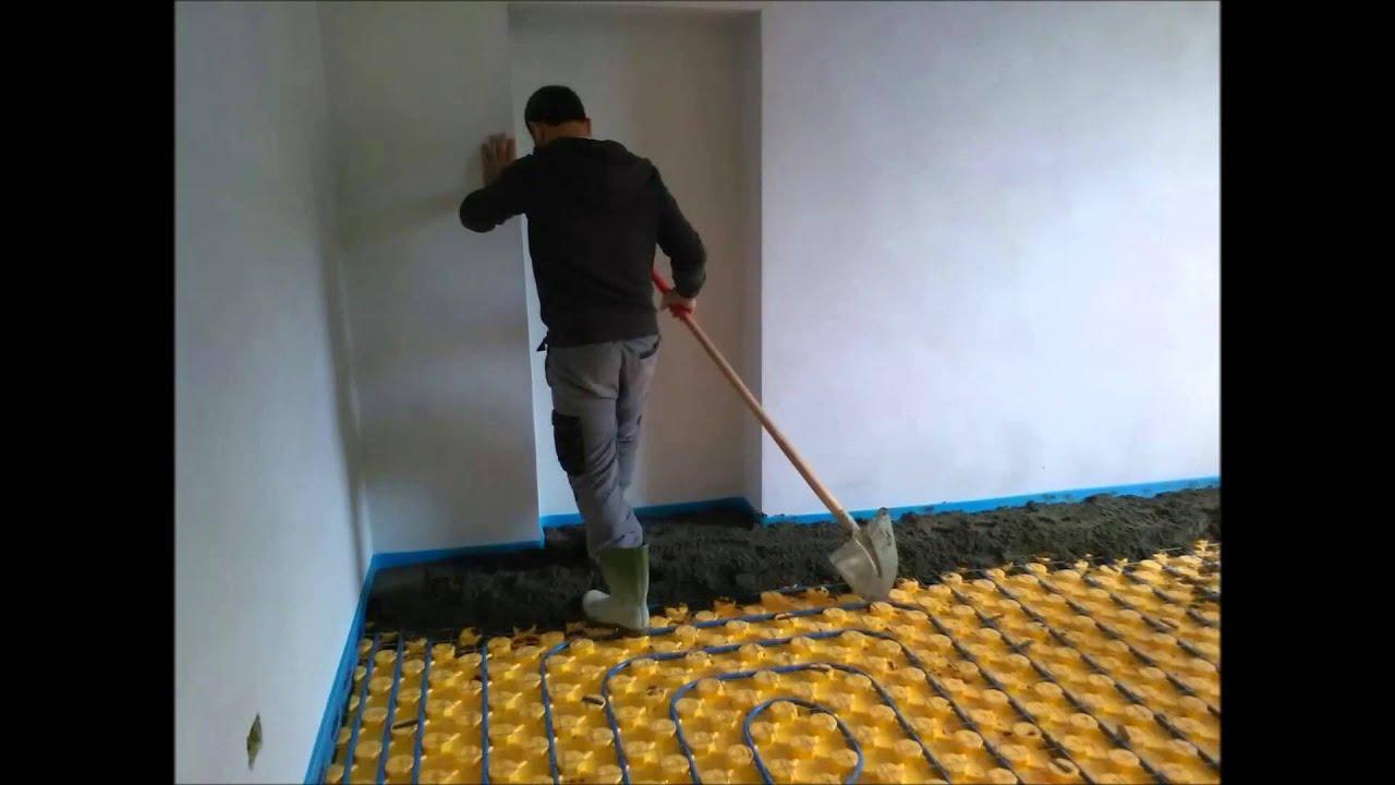 Realizzazione di vespaio areato nuovo sottofondo pavimento radiante