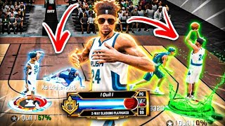 I Won 1v1 Rush In The Quickest Way Possible on NBA 2K20! 2-WAY SLASHING PLAYMAKER BEST JUMPSHOT 2K20