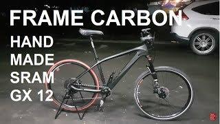 Merakit Frame Carbon Handmade Sram GX 12 speed