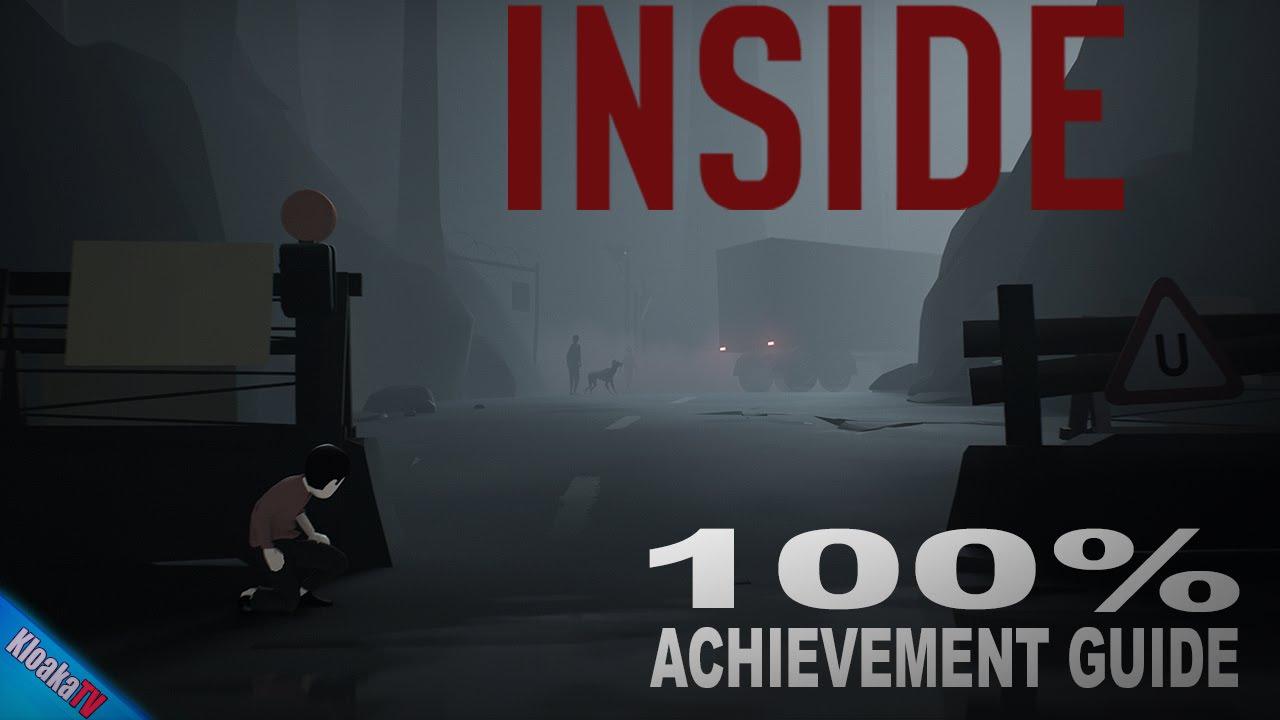 INSIDE - 100% Achievement Walkthrough - All Secret Locations and Orbs