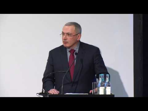 Mikhail Khodorkovsky opening speech at the Annual Conference of Human Rights 2016 (RUS)