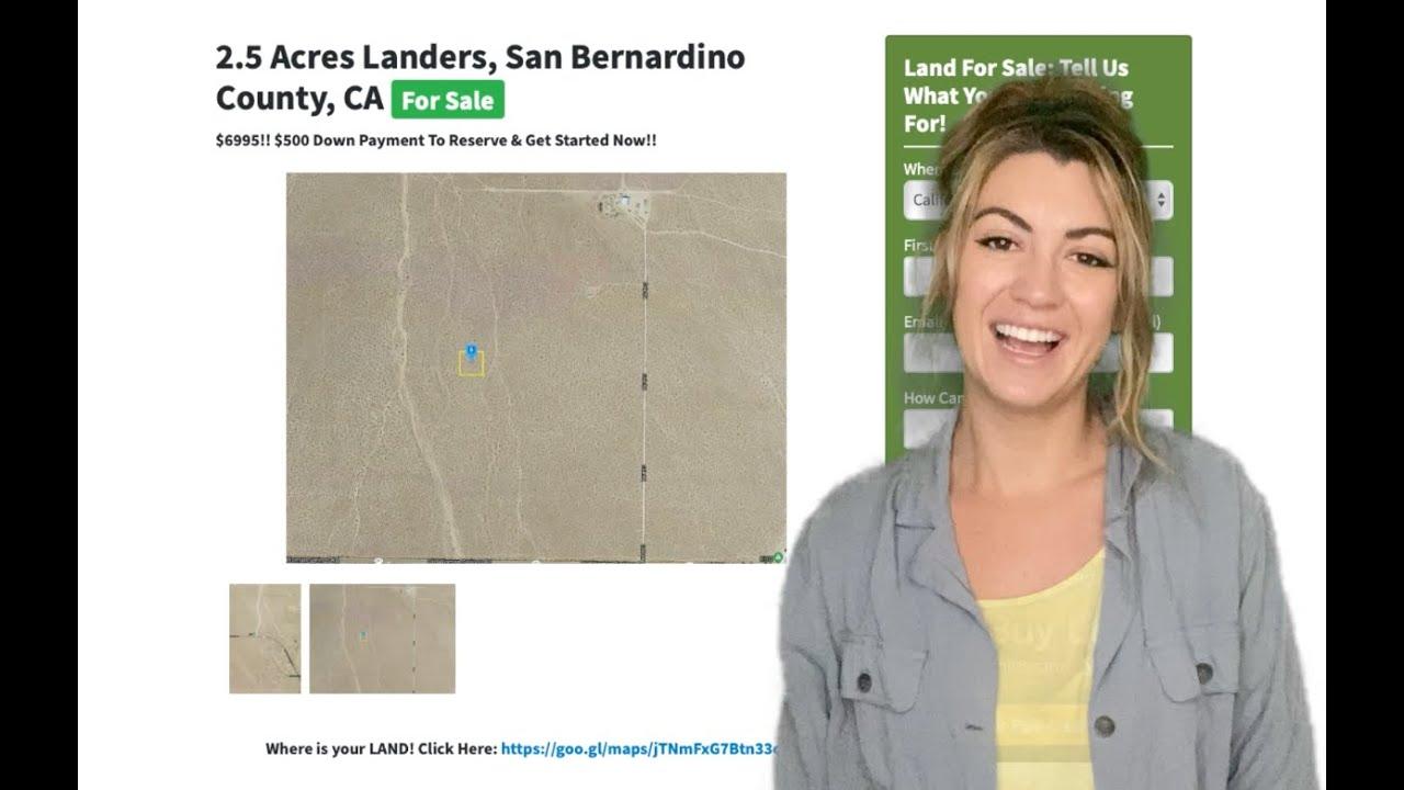 2.5 Acres Landers Property in San Bernardino County, CA