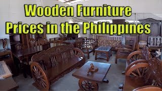 Wooden Furniture Prices In The Philippines.