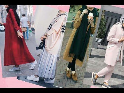 2ea90dcd2d017 موضة ملابس محجبات كاجوال 2016 casual hijab fashion style 2 - YouTube