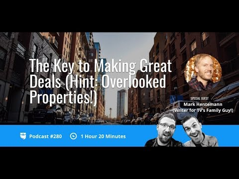 The Key to Making Great Deals with Mark Hentemann   BiggerPockets Podcast 280