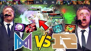 NIGMA vs RNG - MOST EPIC GAME ON 7.23 - FIRST TIME EVER 70+ MIN T5 Neutral Items 30k Comeback Dota 2