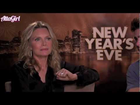 Michelle Pfeiffer & Zac Efron talk New Year's Eve