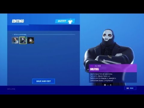 How To Unlock Shadow/Ghost Brutus In Fortnite