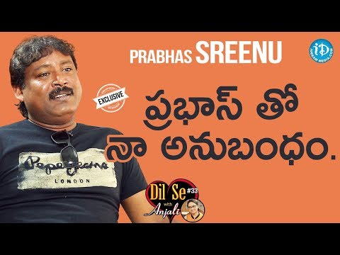 Comedian Prabhas Sreenu Exclusive Interview || Dil Se With Anjali #33