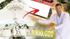 MY $300,000 WEDDING TENT REVEAL!