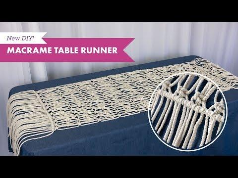 macrame-table-runner-diy-|-balsacircle.com