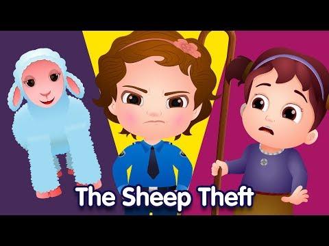 ChuChu TV Police Vs Thief Surprise Eggs – Episode 07 (SINGLE) – The Sheep Theft