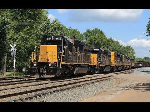 Alabama Southern & Golden Triangle Rail Action 8/12/2015