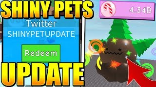 13 SHINY PETS UPDATE CODES IN ICE CREAM SIMULATOR! (Roblox)