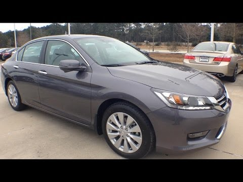 2014 honda accord ex l v6 startup and review tour walk around youtube. Black Bedroom Furniture Sets. Home Design Ideas