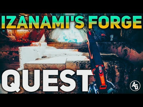 How to access Izanami's Forge FULL QUEST GUIDE | Destiny 2 Black Armory Forge Quest