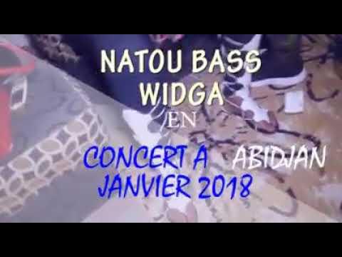 Concert de NATOU Bass Widiga ABIDJAN 06 Janvier 2018