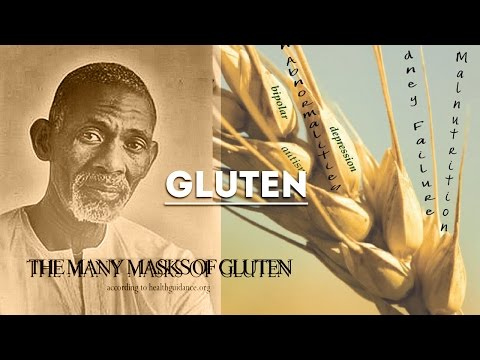 Dr. Sebi - Exposes Truth On Artificial Chemical GLUTEN (Clip)