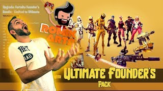 Fortnite | Should we buy ULTIMATE Founders Pack 50% off + All the Legendary Hero's