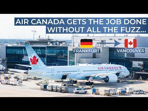 TRIPREPORT | Air Canada (ECONOMY) | Frankfurt - Vancouver | Boeing 787-8
