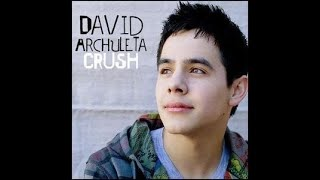 Crush - david archuleta (cover)
