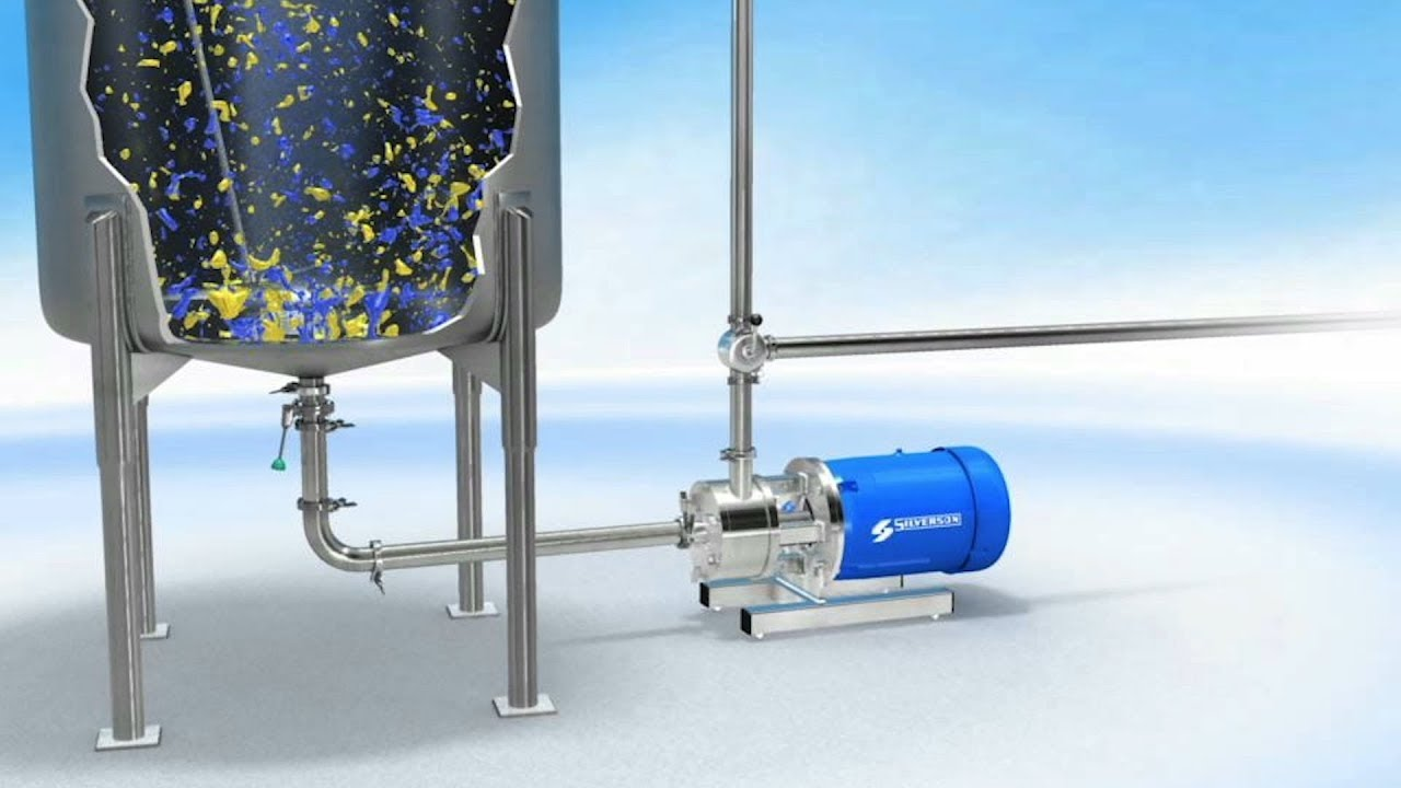Silverson high shear mixers - zw nordic AB distributor in