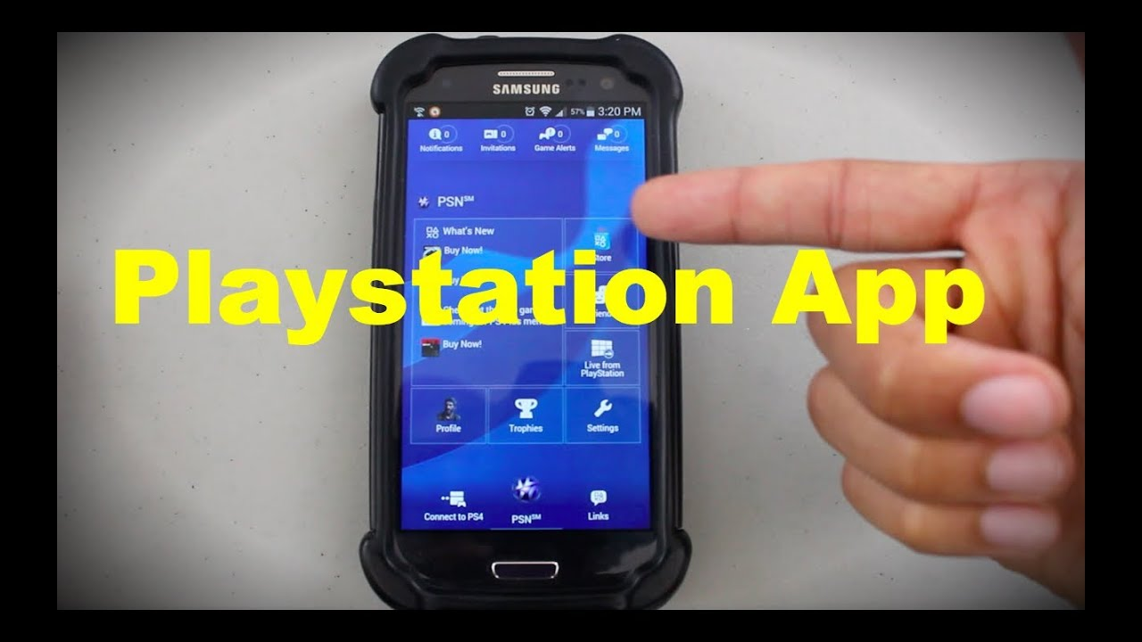 Communicate on PSN from your phone (Playstation App)