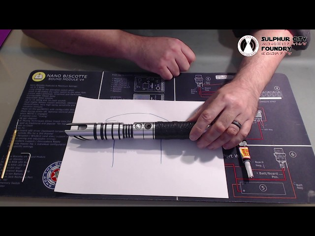 Fixing Switches into a Lightsaber Hilt
