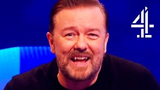 Ricky Gervais Loses It Over Adam Hills' Scooby Doo Impression | The Last Leg
