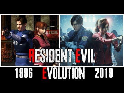 Эволюция игр Resident Evil | все части [1996 - 2019]