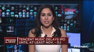 Tencent Music delays IPO due to market conditions: Dow Jones