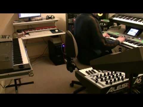 Vangelis Improvisation Rachel's Song L'enfant Hymn (played live)