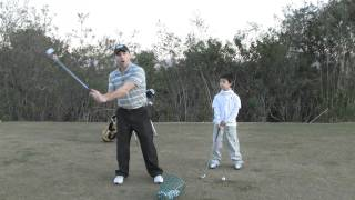 Golf Drills Free golf lessons for kids step drill