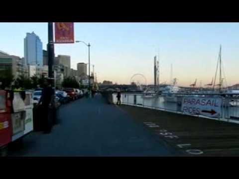 Walk on the Seattle Waterfront 8 20 2013