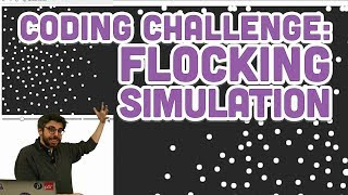 Coding Challenge #124: Flocking Simulation