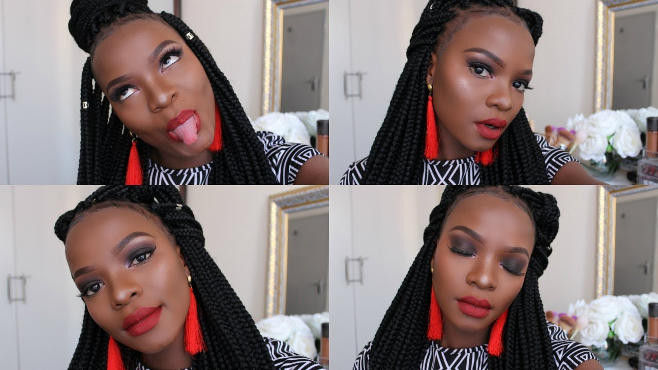 Zimbabwean Braids Hairstyles: HOW TO SLAY YOUR EDGES + 4 BOX BRAID STYLES