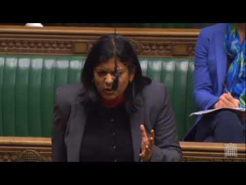 Rupa expresses concern at the Tories re-writing history in Schools